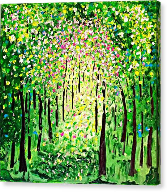 Forest Gifts Canvas Print
