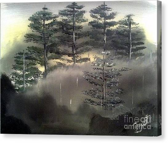 Forest Hill Side Canvas Print