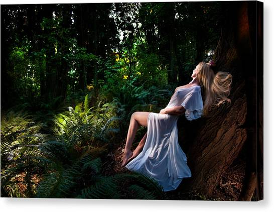 Forest Nymph 3 Canvas Print