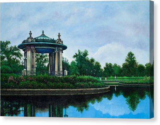 Forest Park Muny Bandstand II Canvas Print