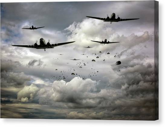 Forever Airborne Canvas Print