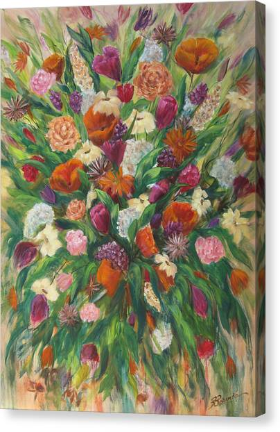 Forever In Bloom Canvas Print