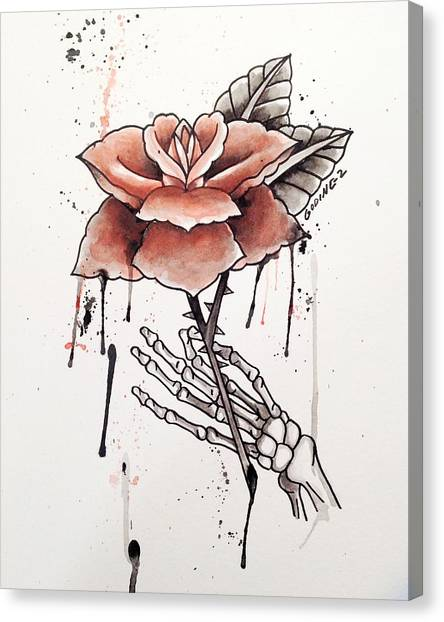 Red Roses Canvas Print - Forever Love  by Ivan Godinez