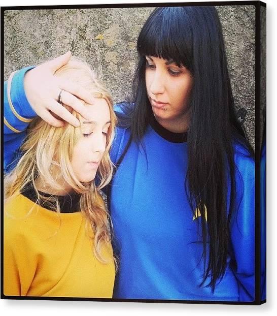 Spock Canvas Print - Forget - #cosplay #startrek #spock by Daniela Barisone