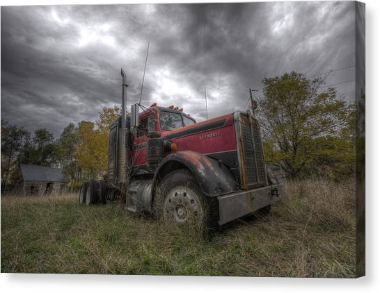 Forgotten Big Rig 2014 V2 Canvas Print