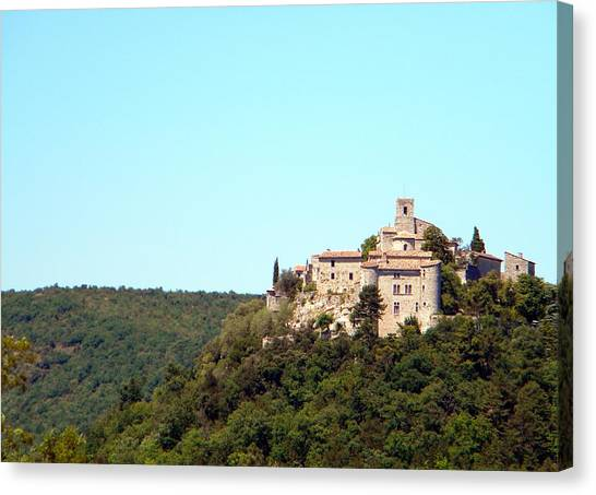 Forgotten Chateau Canvas Print