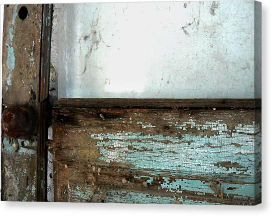 Forgotten Door Canvas Print