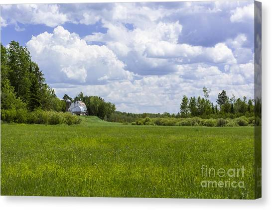 Forgotten Farm Canvas Print