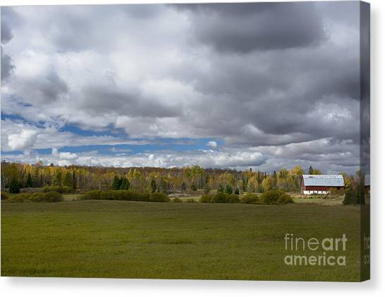 Forgotten Farm II Canvas Print