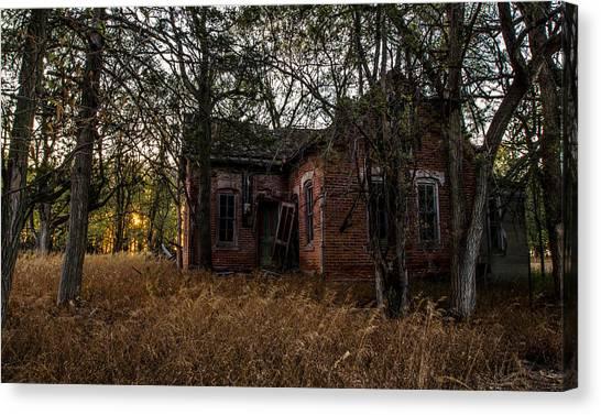 South Dakota Canvas Print - Forgotten IIi by Aaron J Groen