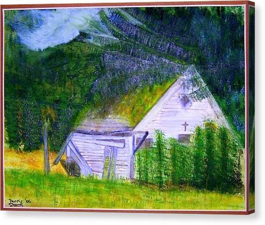 Forgotten In The Smokies Canvas Print