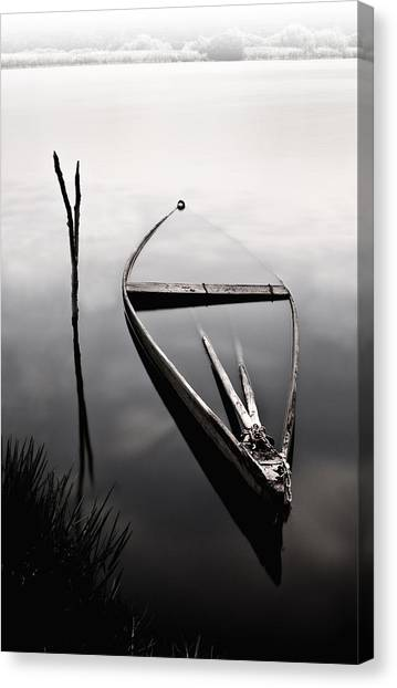 Forgotten In Time Canvas Print