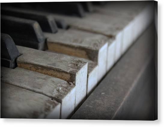 Forgotten Keys Canvas Print