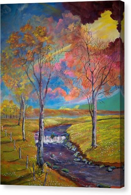 Forgotten Pastures Canvas Print