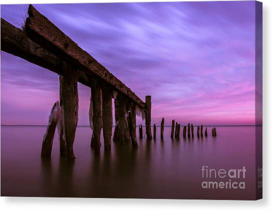 Forgotten Sunrise Canvas Print by Matt  Trimble