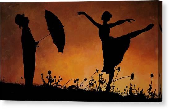 Dancer Canvas Print - Forse Non Piove by Guido Borelli