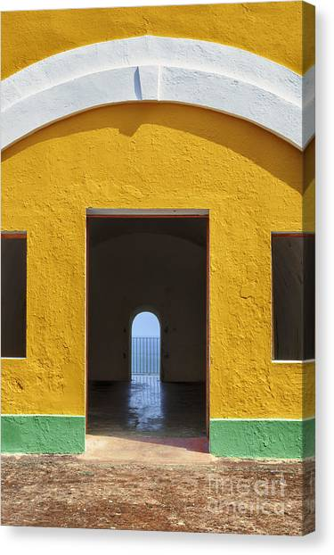 Fort Castillo San Felipe Del Morro Canvas Print