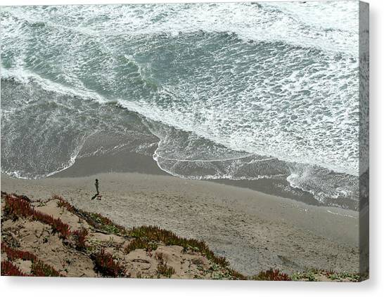 Fort Funston Beach Canvas Print
