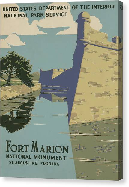 Fort Marion Canvas Print
