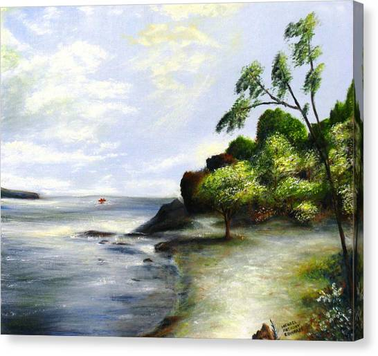 Fort Point State Park Canvas Print