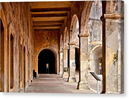 Fort San Cristobal 5 Canvas Print