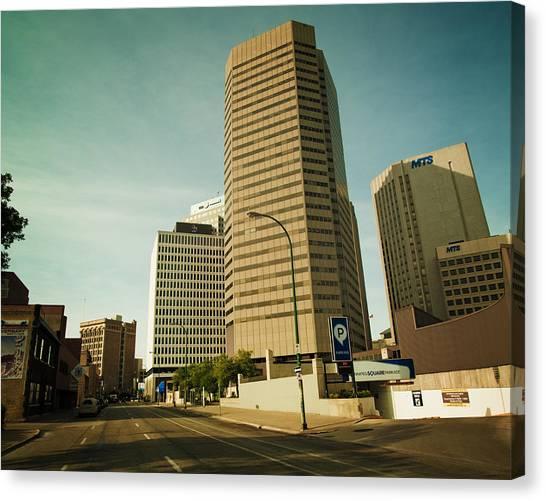 Manitoba Canvas Print - Fort Street by Bryan Scott