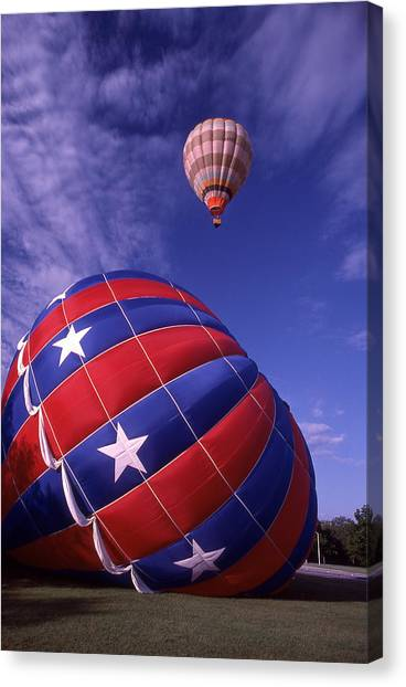 Fort Worth Balloons Canvas Print