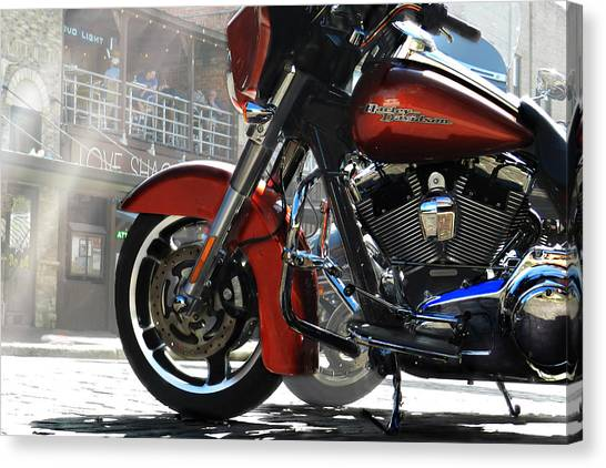 Fort Worth Harley Photograph By Mamie Thornbrue