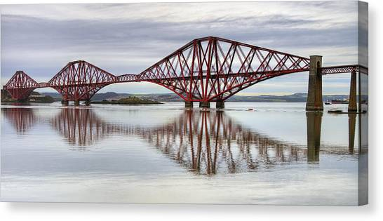 Forth Bridge Reflections Canvas Print