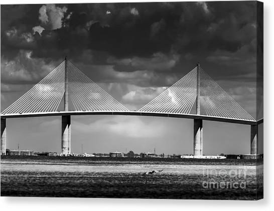Interstates Canvas Print - Fortified Defiance by Marvin Spates