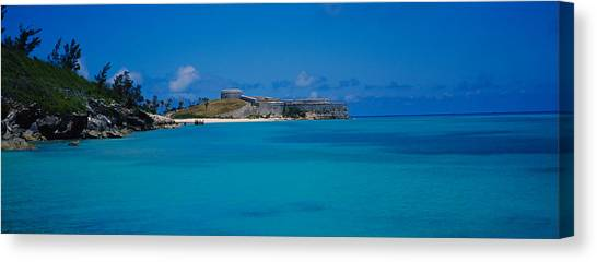 St George Canvas Print - Fortress At The Waterfront, Fort St by Panoramic Images