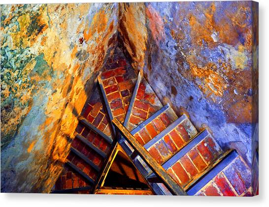Fortress Steps Canvas Print