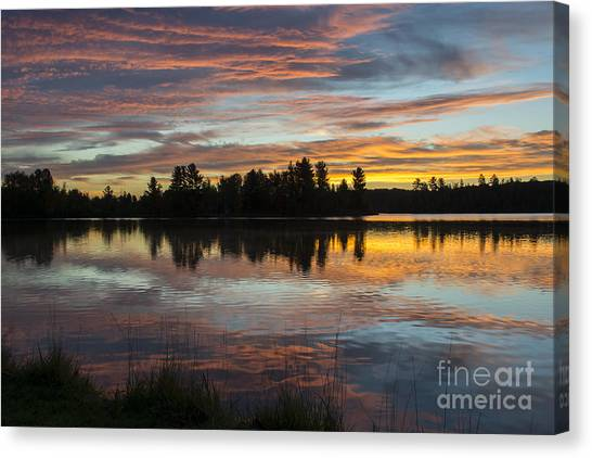 Fortune Lake Canvas Print
