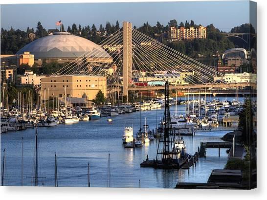 Foss Waterway Tacoma Canvas Print