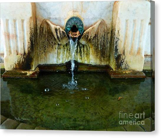 Fountain At Andersonville Canvas Print