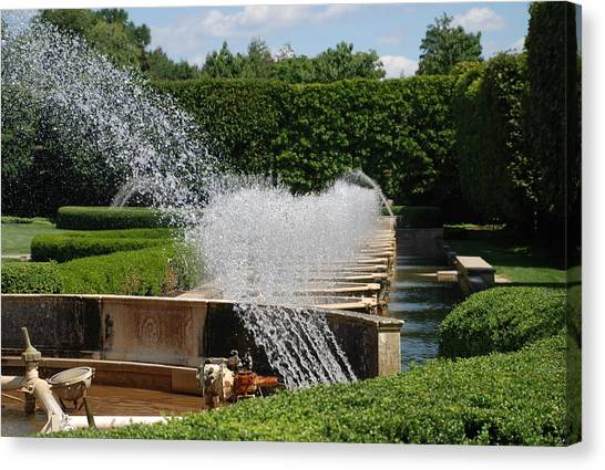 Fountains Canvas Print