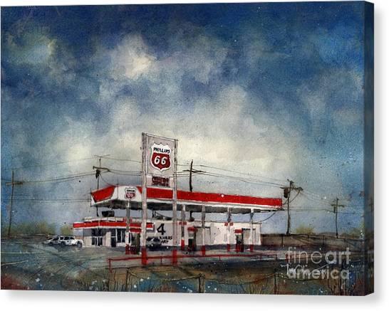 Four Corners Mart Canvas Print