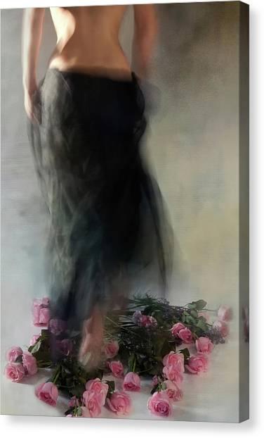 Four Dozen Roses L Canvas Print by Miriana