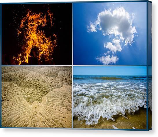 Four Elements Canvas Print by Martin Liebermann