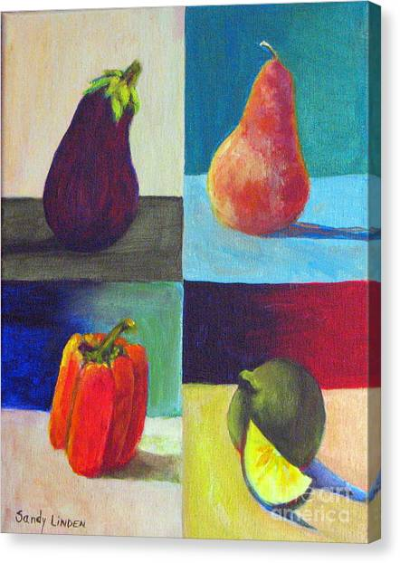 Four In One Canvas Print