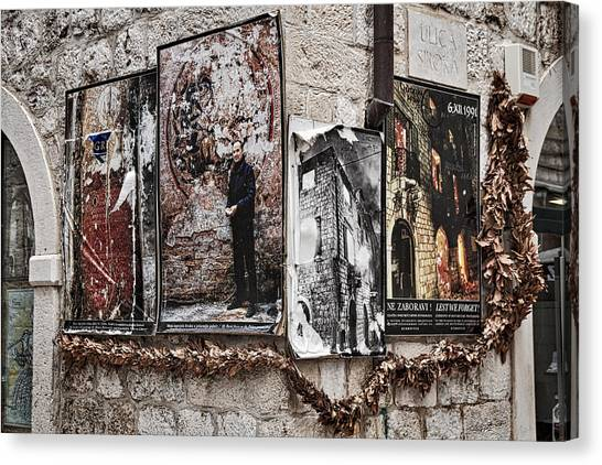 Four Posters Canvas Print