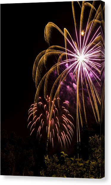 Fourth Of July Canvas Print by Jason Smith