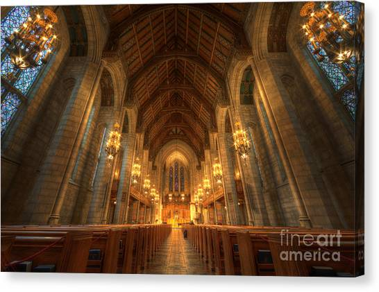 Fourth Presbyterian Church Chicago II Canvas Print