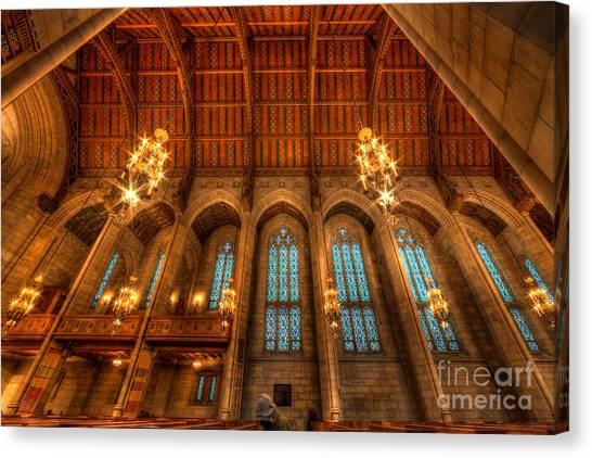 Fourth Presbyterian Church Chicago Canvas Print