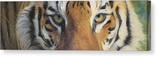 Bengals Canvas Print - Forever Wild by Lucie Bilodeau