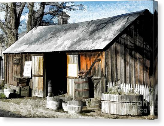 Foxen Winery Canvas Print