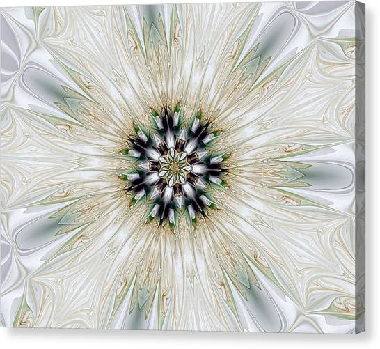 Fractal Desires Kaleidoscope Canvas Print