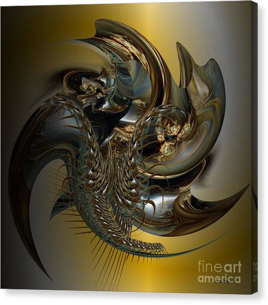 Fractal Display Canvas Print by Doris Wood