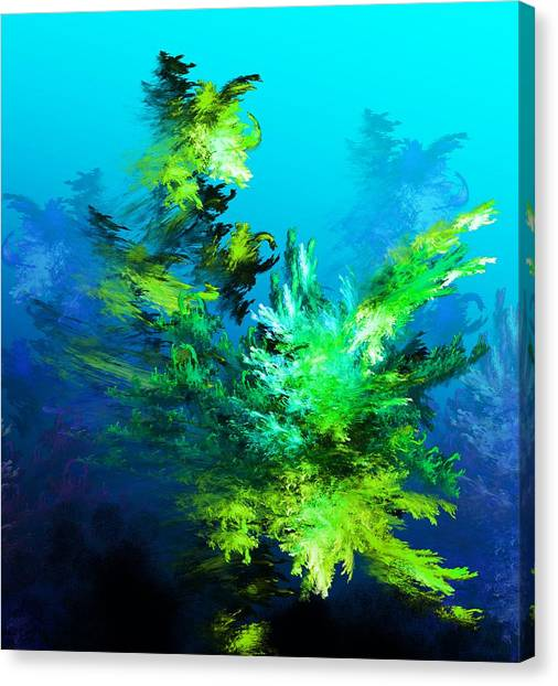 Canvas Print - Fractal Forest by David Lane