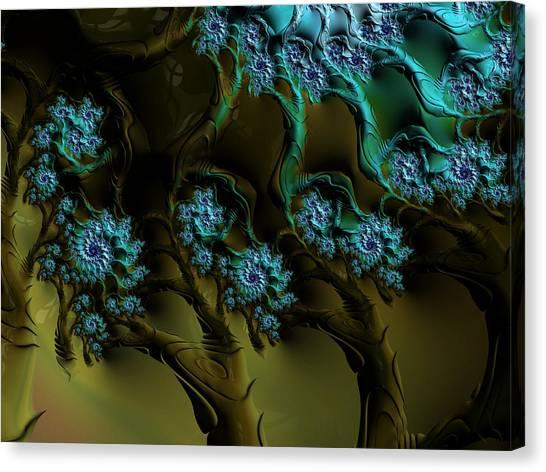 Fractal Forest Canvas Print